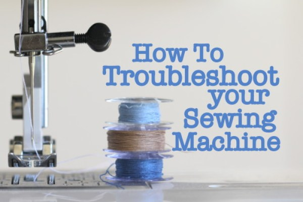 Here are some simple solutions by the Crafty Mummy on how to troubleshoot your sewing machine to keep it running smoothly. -Sewtorial