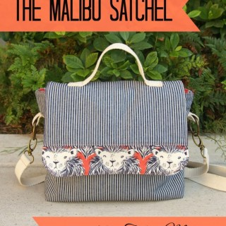 The Malibu Satchel Tutorial