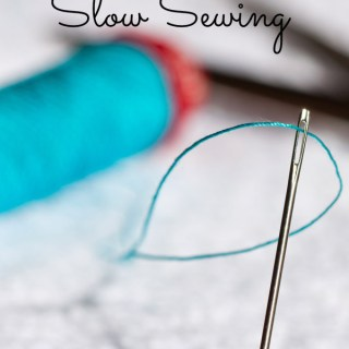 The Slow Sewing Movement