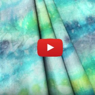 How to Paint Fabric with Dye