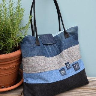 Denim Tote Tutorial