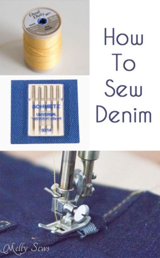 In this tutorial, Melissa from Melly Sews gives great tips on how to work with this versatile fabric. -Sewtorial