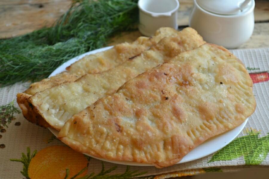 Рецепт чебуреков с фаршем фото