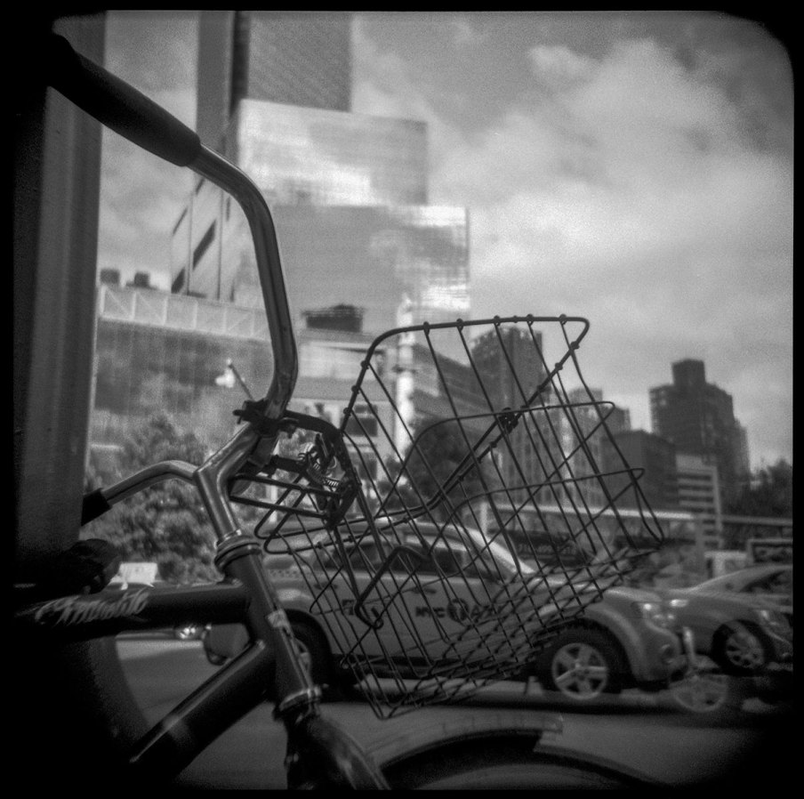 Bike Basket Columbus Circle