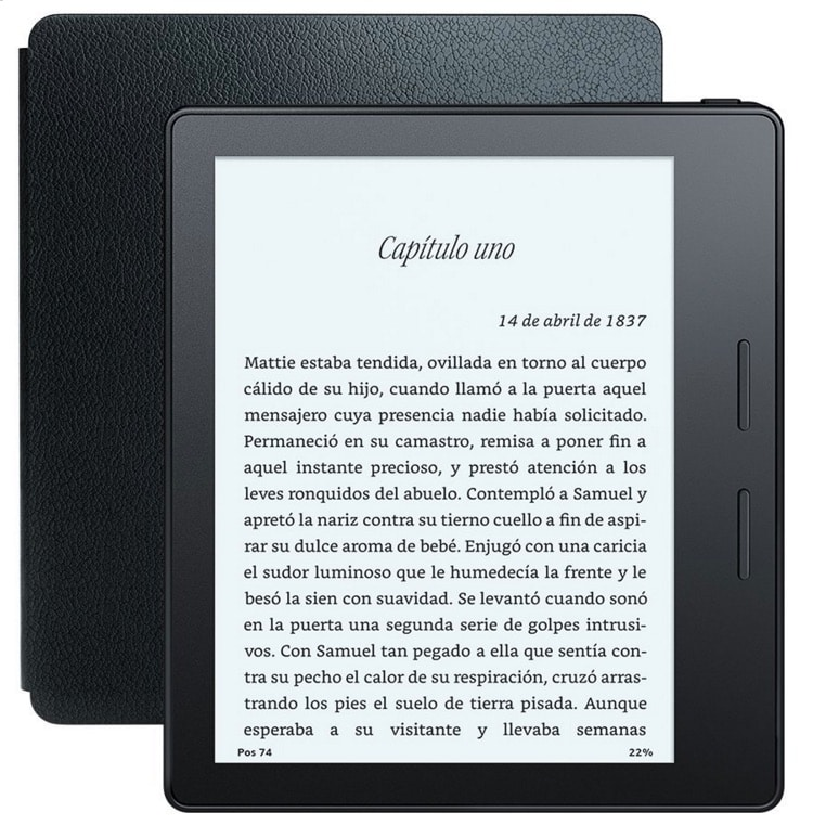 eReader Kindle Oasis reviews: opinión y análisis de este lector de ebooks