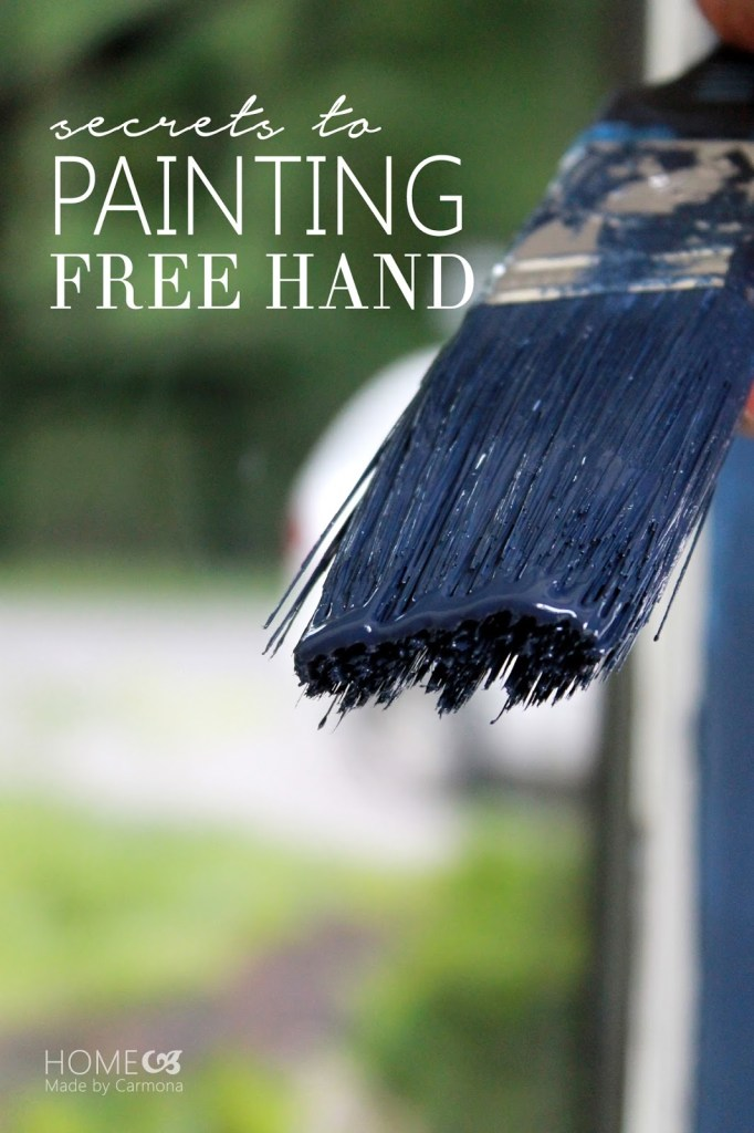 Secrets to painting free hand