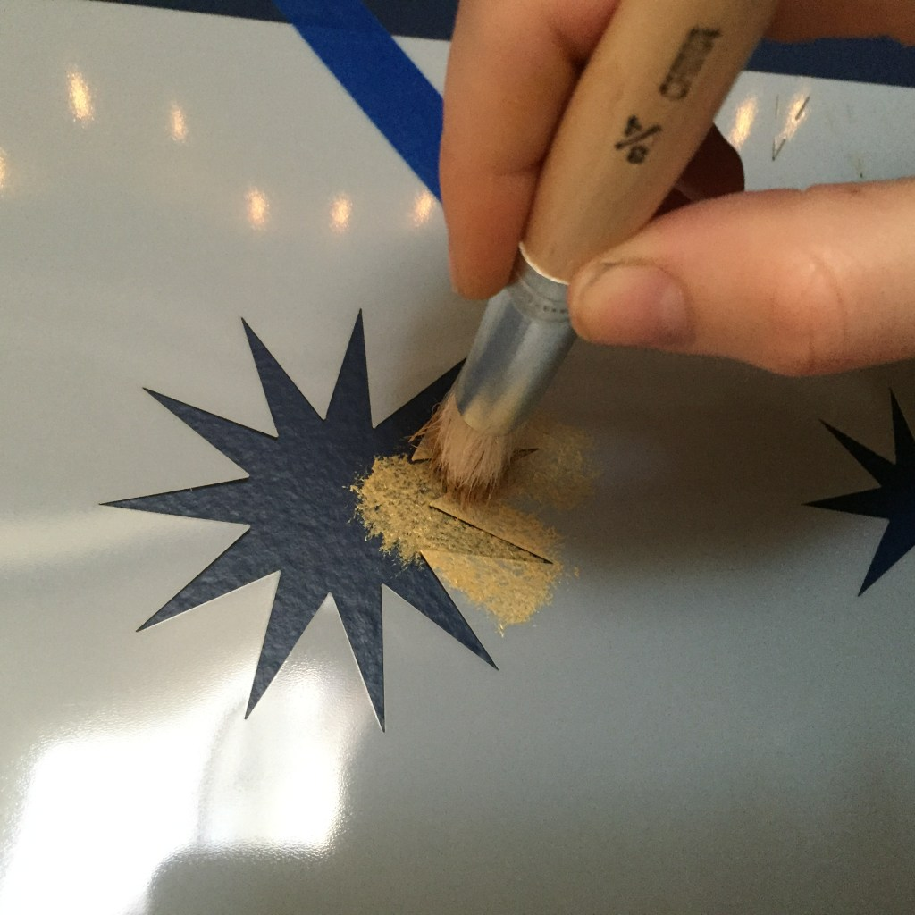 brushing-star-stencil