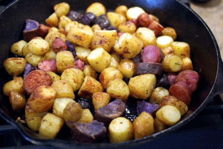 Duck Fat Potatoes – Pomme de Terre Sarladaise