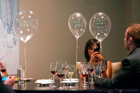 alinea restaurant grant achatz chicago melody gourmet fury food writer photographer green apple balloon