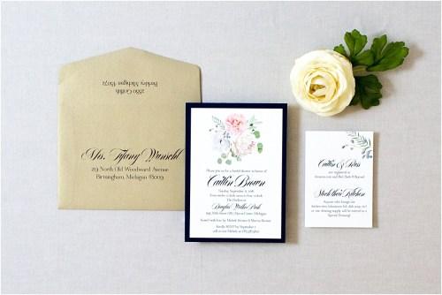 Medium Of Bridal Shower Invitation Wording