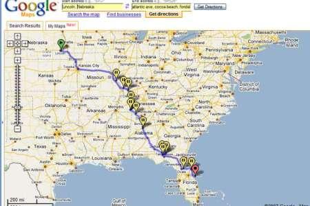 similiar southeast road map keywords