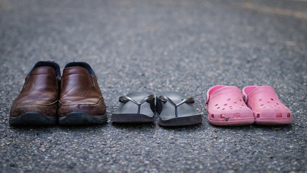 Traveling shoes - Michael Gowin