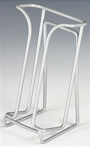 Tabletop Wire Brochure Holders w  Gray Finish   Single Pocket Wire Brochure Holders Wire Brochure Holders