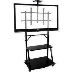 Small Crop Of Tv Stand With Wheels