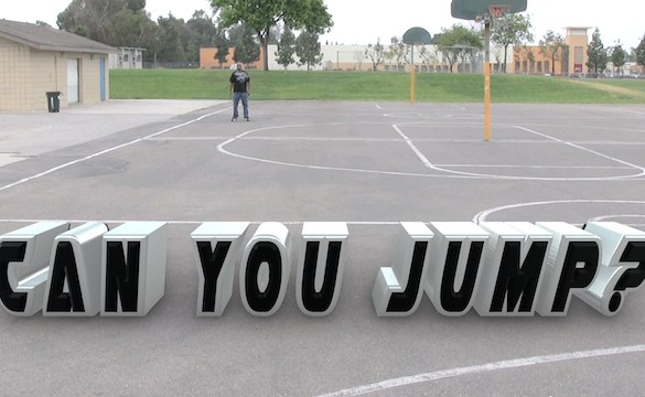 Can You Jump 3D Text 640 x 360