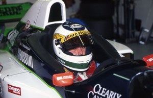 Giancarlo Fisichella made his F1 debut at Minardi in 1996, impressing enough to earn a move to Jordan. (minardi.it)