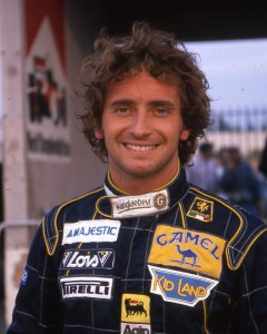 "Pierluigi Martini in 1989. ""Mr. Minardi"" spent 8 seasons at the team between 1985-95, famously qualifying 2nd in the 1990 US GP."
