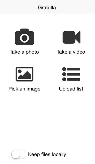 Grabilla for iOS