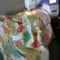 Charmed Disappearing 9 Patch Baby Quilt