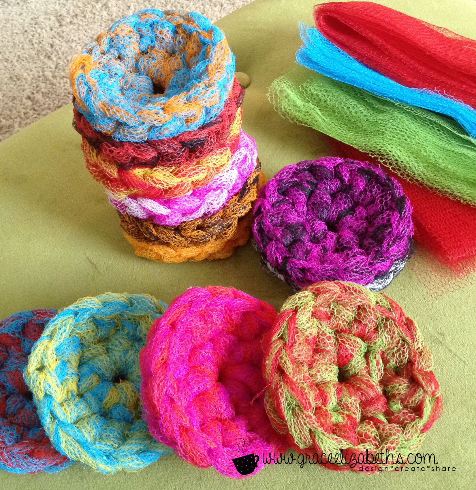 Free pattern easy pot scrubber grace elizabeths pattern easy pot scrubber what would you use these scrubbers for besides scrubbing pots and pans happy crocheting bankloansurffo Gallery