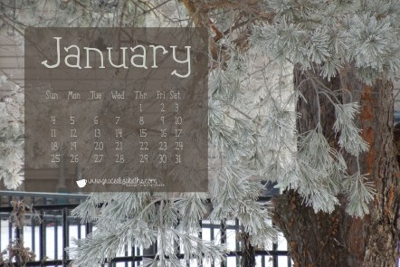 Free January Computer Wallpaper by Grace Elizabeth's