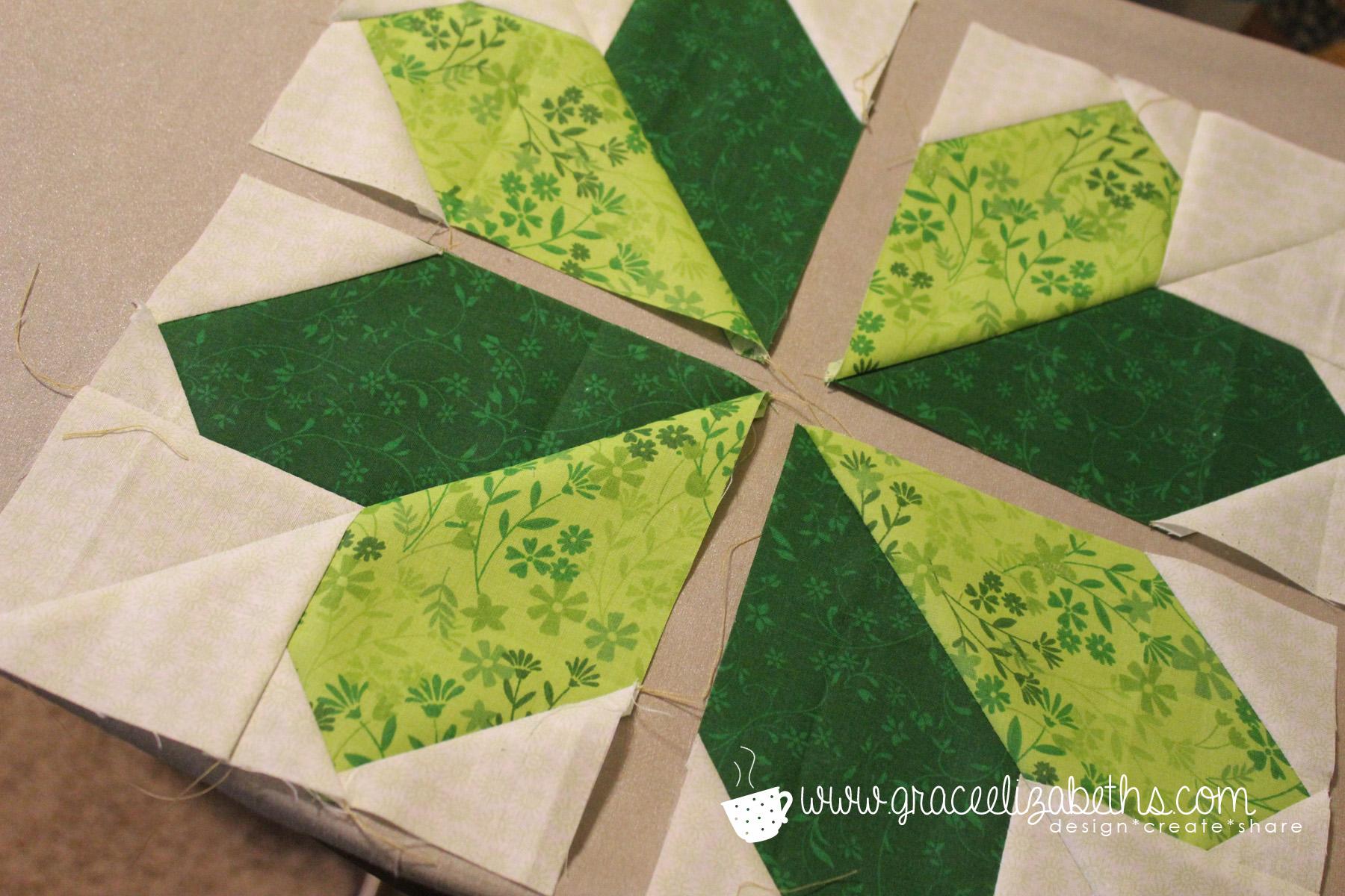 shamrock sewing lucky clover block grace elizabeth u0027s
