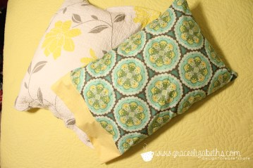 Pillowcase with easy tutorial by Grace Elizabeth's