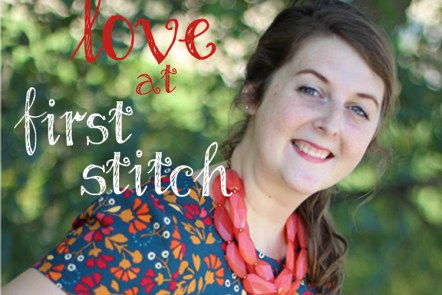 Megan Dress - Love at First Stitch by Alex for Grace Elizabeths