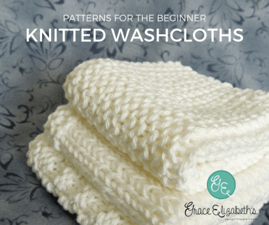 3 Easy Washcloth Patterns For Beginners Grace Elizabeths