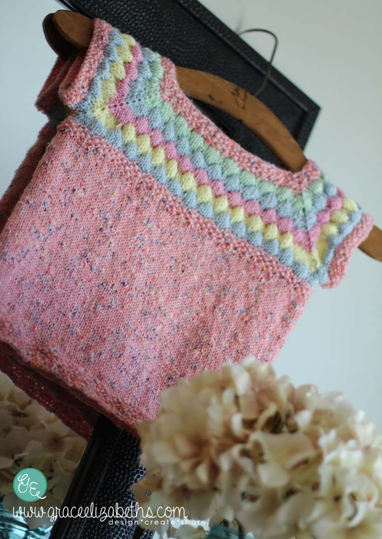 How to Pay Zero for a Cute Baby Sweater by GraceElizabeths.com #Knitting