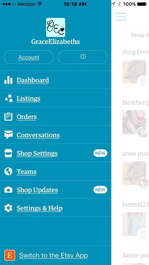 Sell Etsy App