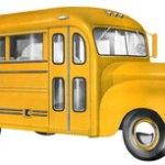vintage school bus