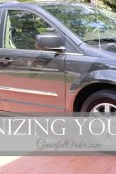 Organizing Your Car