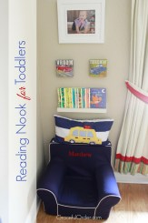 Reading Nook for Toddlers