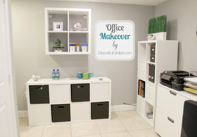 Office Makeover – Before and After