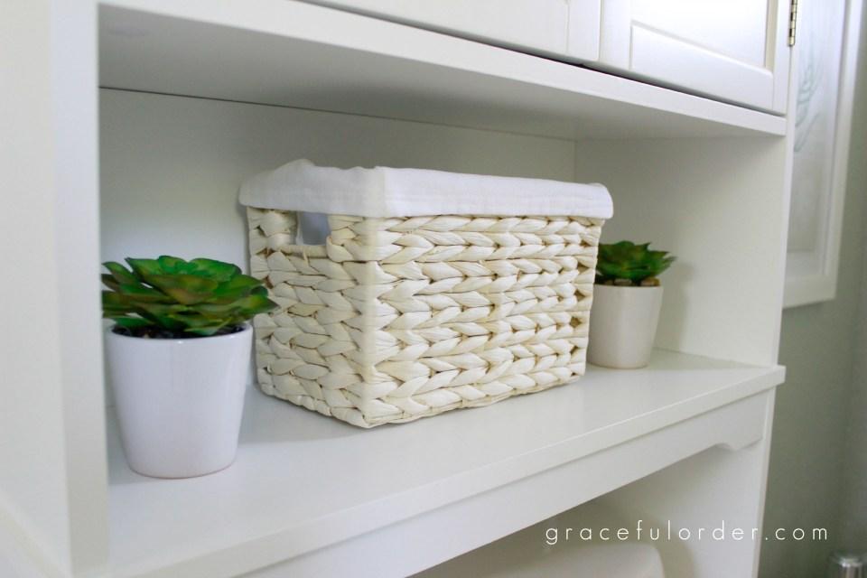 Adding Storage to Bathrooms