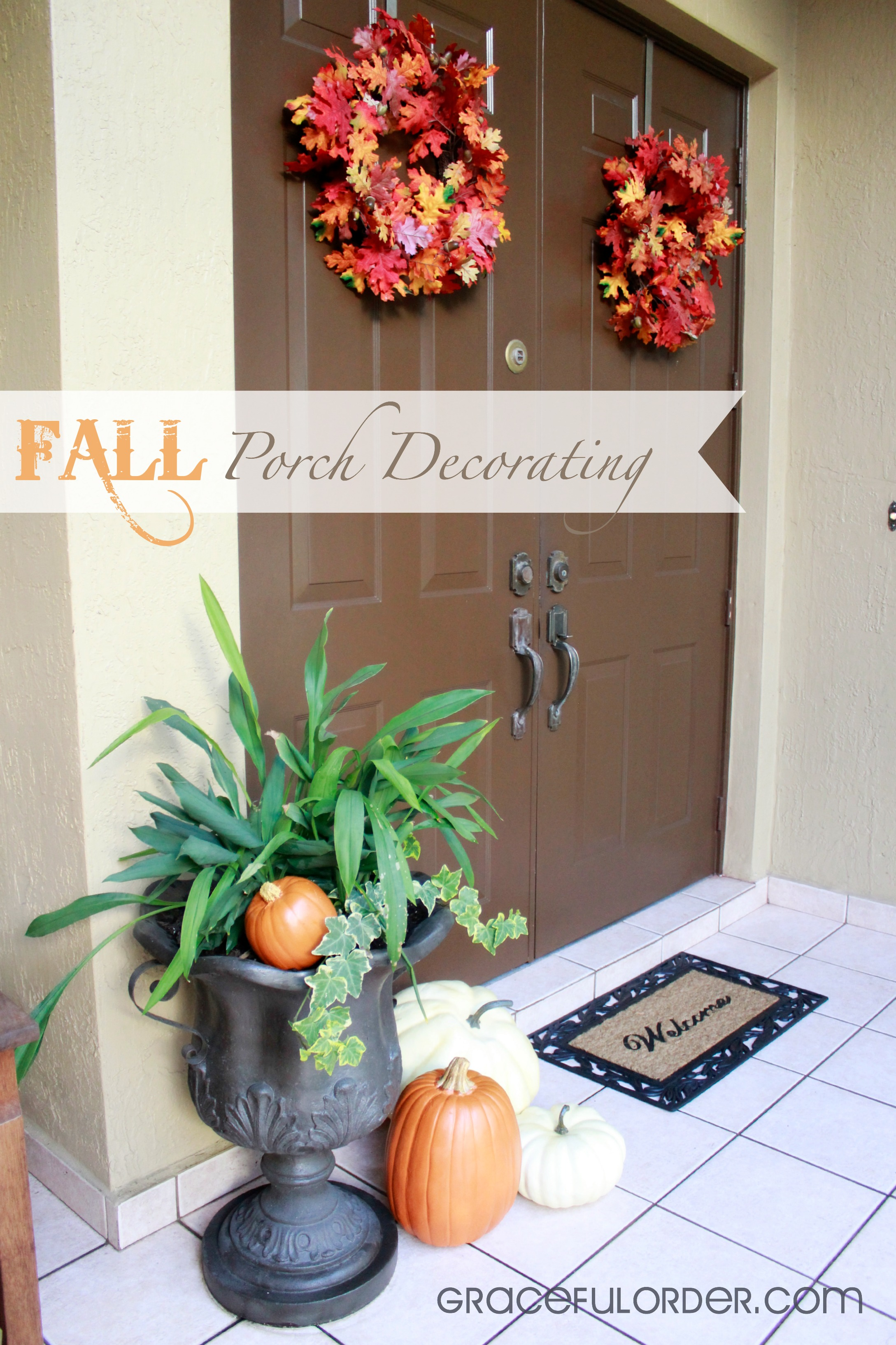 Fall porch decorating ideas pictures - Fall Porch Decorating Ideas