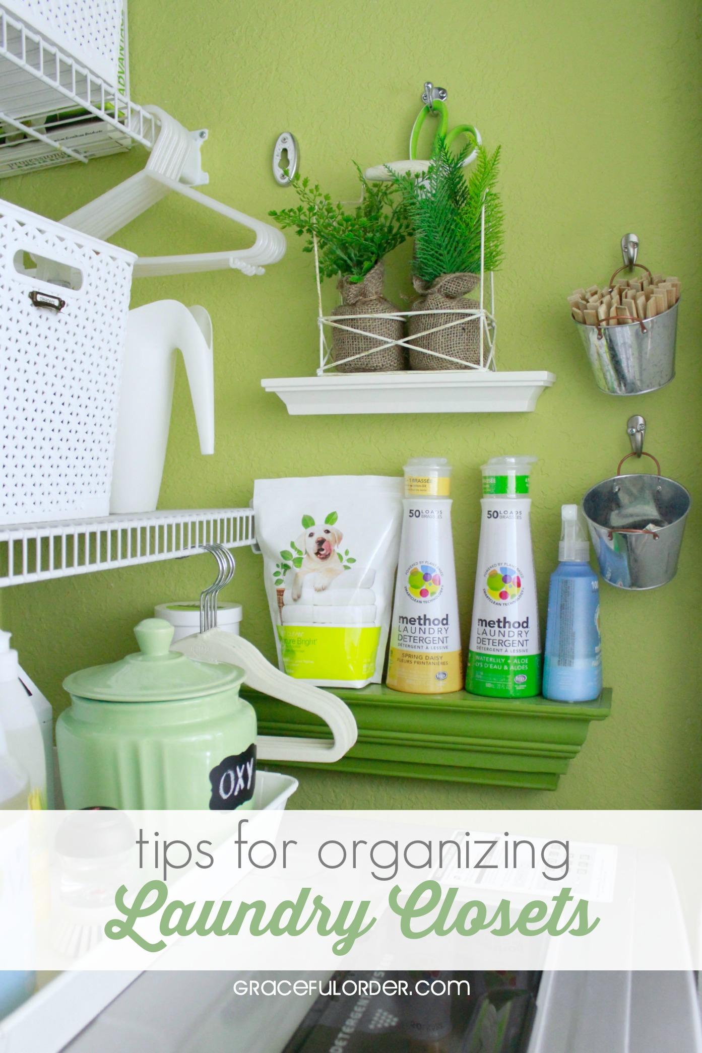 Laundry Closet Organization Ideas Part - 30: Tips For Organizing Laundry Closets