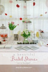 Bridal Shower Cover