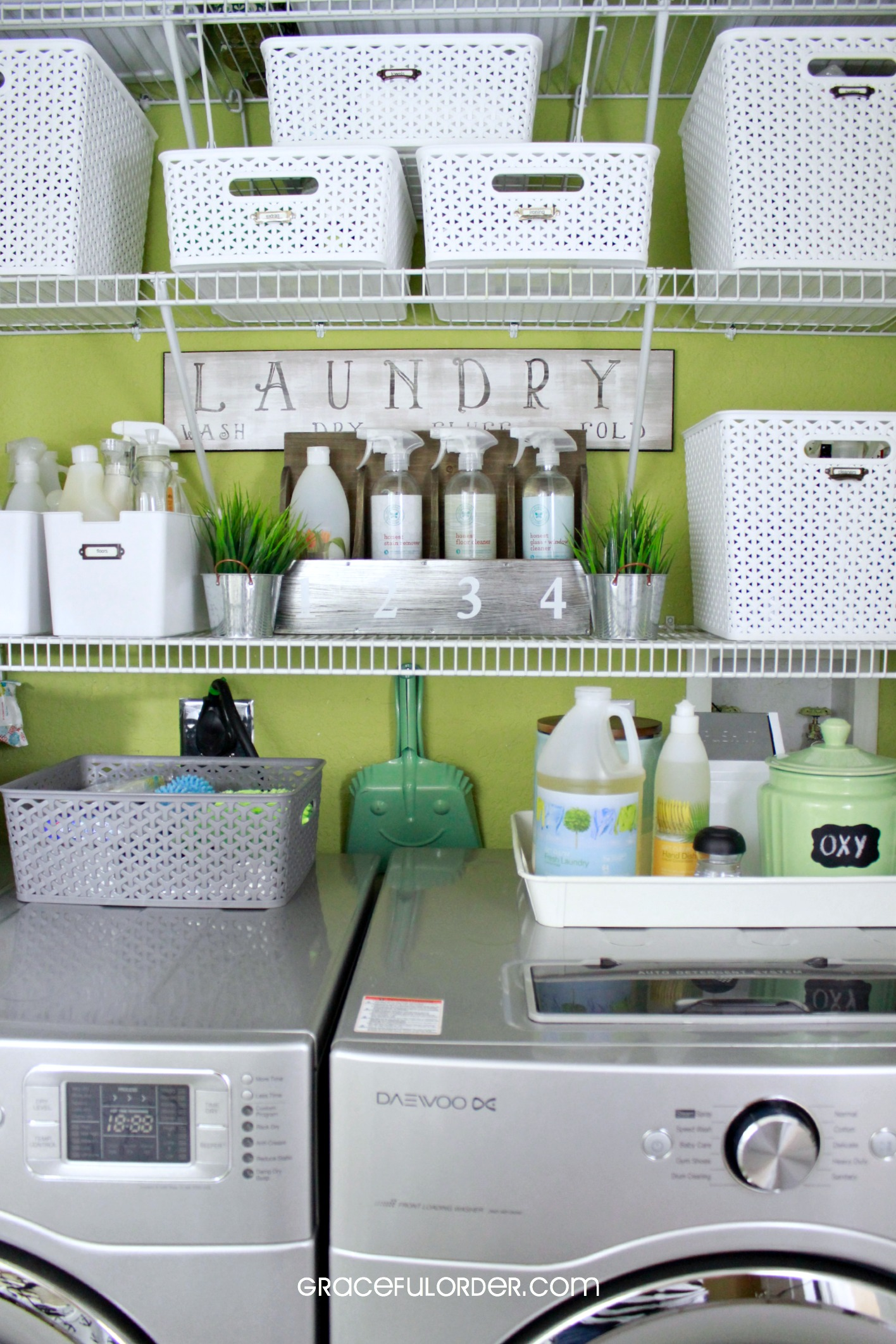 laundry room organization ideas graceful order