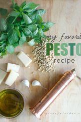 Mt Favorite Pesto Recipe