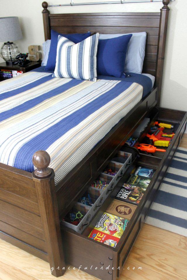 Teen / Tween Bedroom Organization