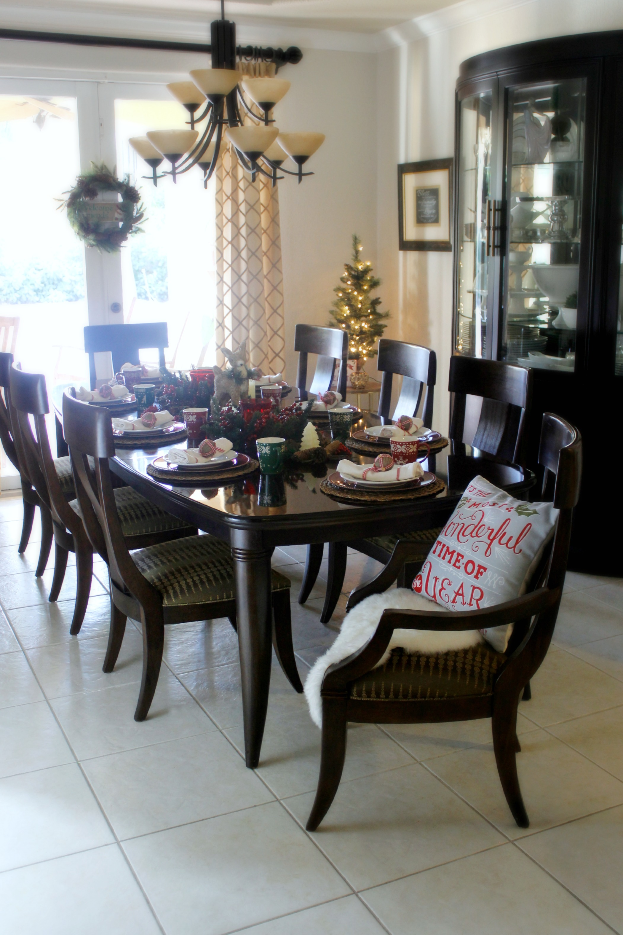 Christmas Woodland Dining Room Part 92