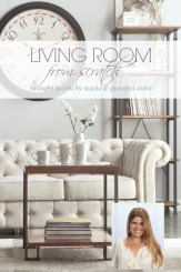 Living Room with Wayfair