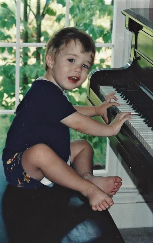 Will at the piano