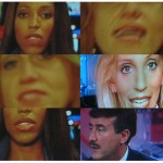 Faces of the Change | Digital collage | various TV news anchors/commentators US Election night | 2008