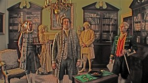 The Gamble | Digital tableau | The Georgian House, Bristol City Museum and Art Gallery | 2007