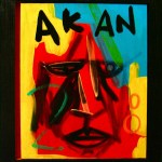 Akan | 50cm x 41cm | Acrylic, gloss & mixed media on board | 2008
