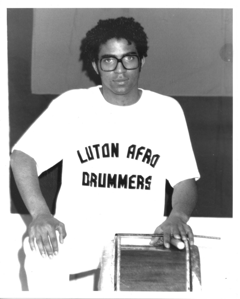 GME LUTON AFRO DRUMMERS 1990 WEB