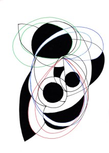 BLACK ANGELS 4 | Pen and Ink | Inward Gaze, Outward Focus (Synesthesia) |  21cm X 29.7cm  | 2015